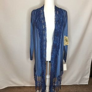 One World Open Front Cardigan AA 1258